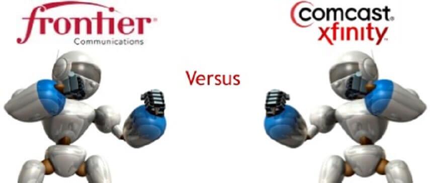 frontier vs comcast (Xfinity)