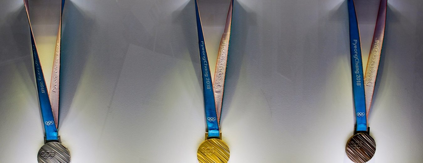 2018 Winter Olympics Medals
