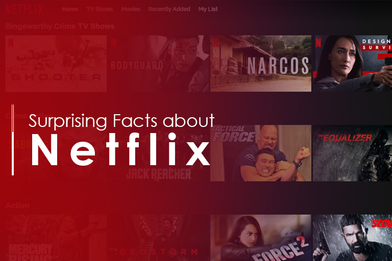 Internet and Surprising Netflix Facts