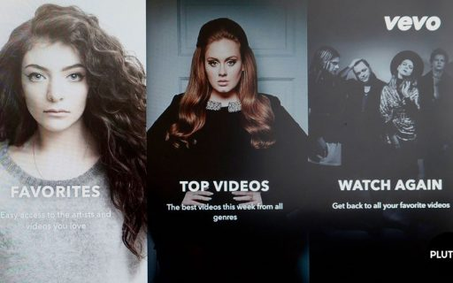 Pluto TV Adding Music Video Channels From Vevo
