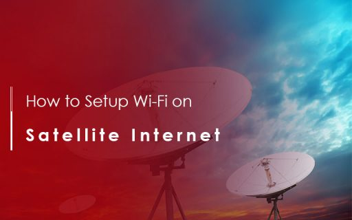 how to setup wifi on satellite inernet