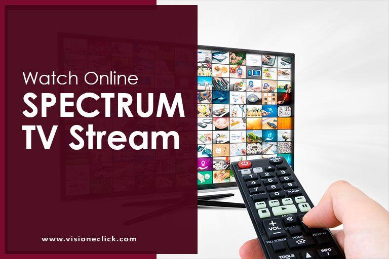 spectrum tv stream online