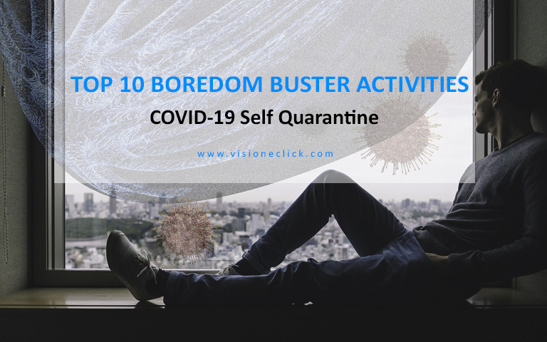 boredom buster activites COVID-19