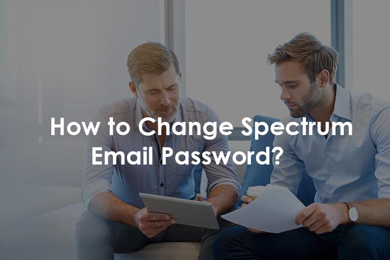change spectrum email password