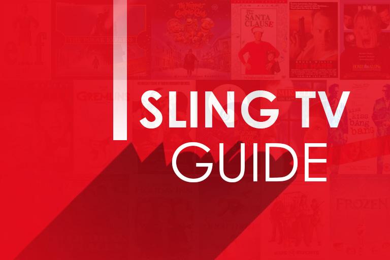 sling tv guide