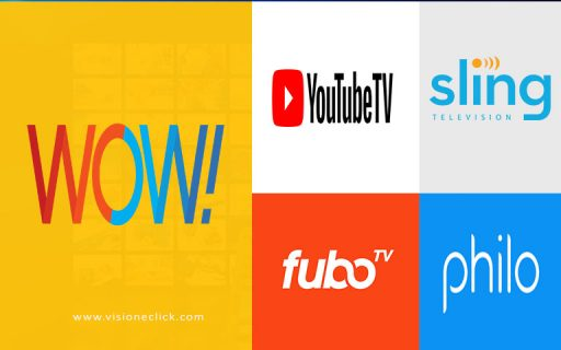 wow partners with top streaming services