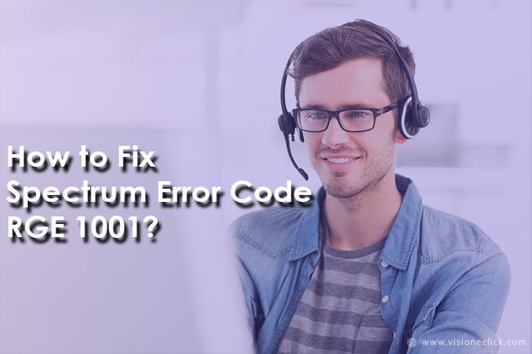Spectrum Error Code RGE 1001