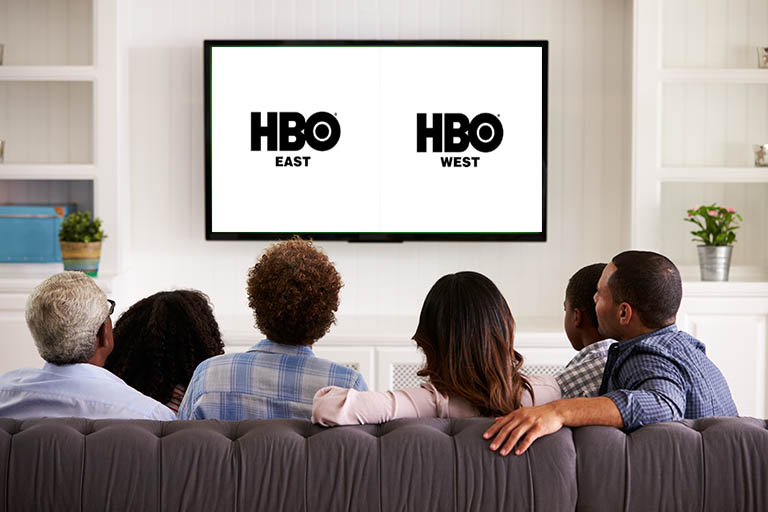 HBO East vs HBO West